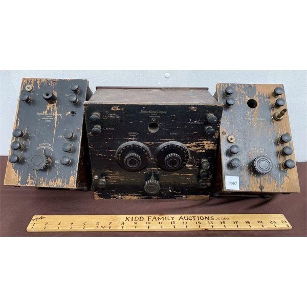 NORTHERN ELECTRIC 3 PIECE METER - PAT'D 1923