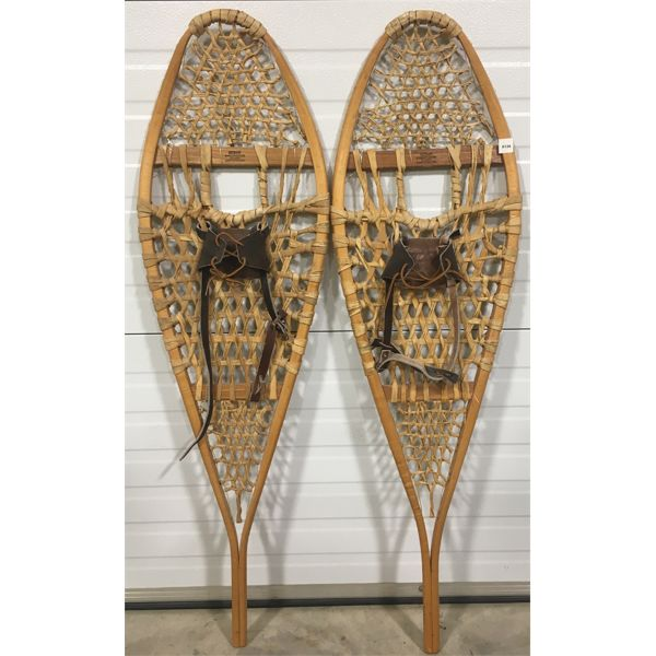 """PAIR OF SNOWSHOES - 48"""" MADE IN CANADA"""