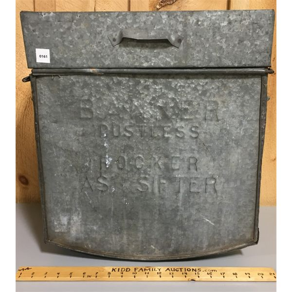 GALVINIZED ASH SIFTER