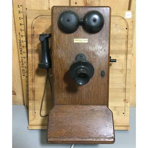 NORTHERN ELECTRIC WALL MOUNT PHONE