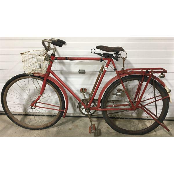 RED BIRD WOOD RIM BICYCLE; TORONTO