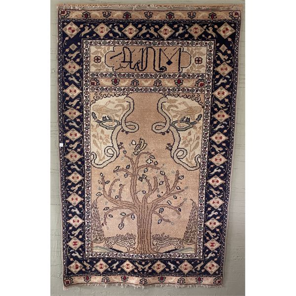 """50"""" X 80"""" RUG - CURRENTLY USED AS WALL ART"""