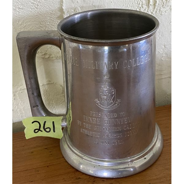 ROYAL MILITARY COLLEGE ATHLETIC AWARD STEIN