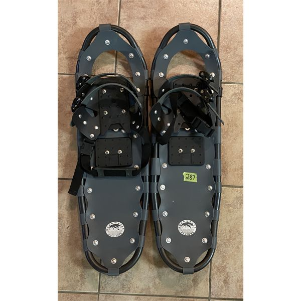 """ROCK WATER DESIGNS - SNOWSHOES - NO SZ MARKED - 26"""""""