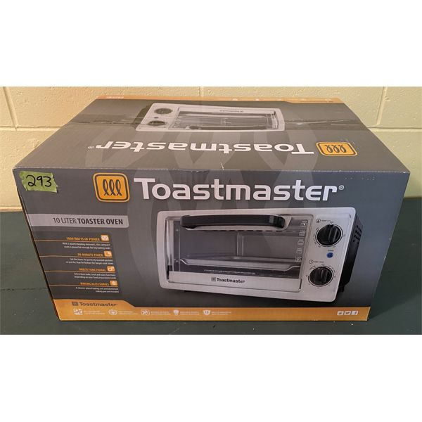 TOASTMASTER TOASTER OVER - AS NEW