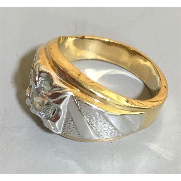 14 KARAT GOLD RING - SZ 10