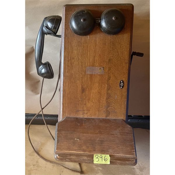 ANTIQUE NORTHERN ELECTRIC WALL PHONE