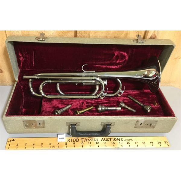 WATERLOO CHAMPION TRUMPET WITH CASE