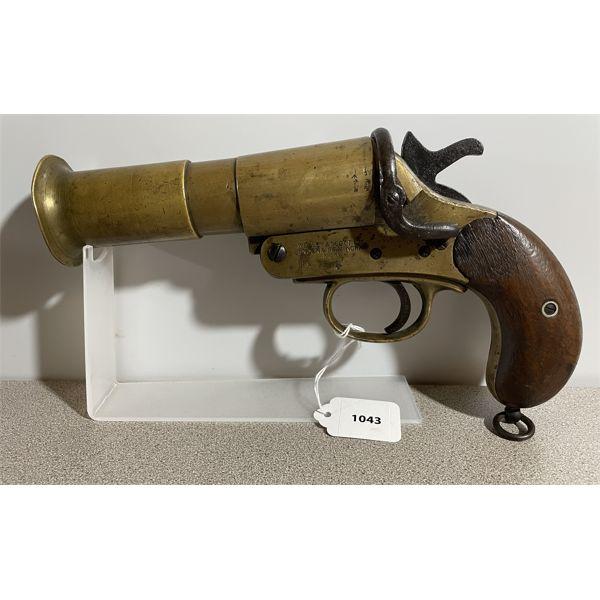 WEBLEY & SCOTT MODEL III * FLARE GUN - NO PAL REQUIRED