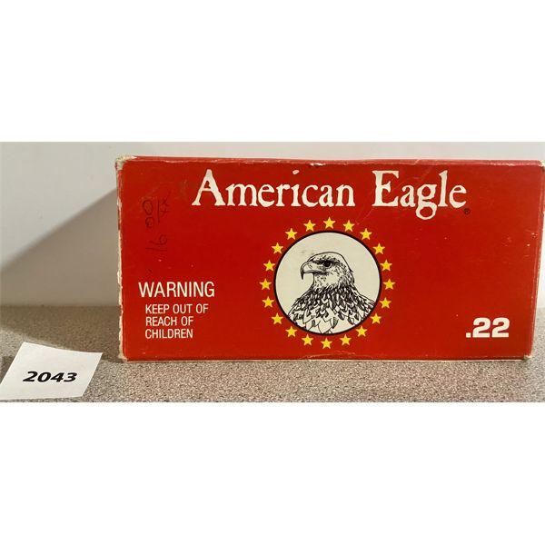AMMO: 500X AMERICAN EAGLE 22 LR