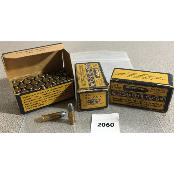 150 X CIL .22 L - COLLECTIBLE BOXES
