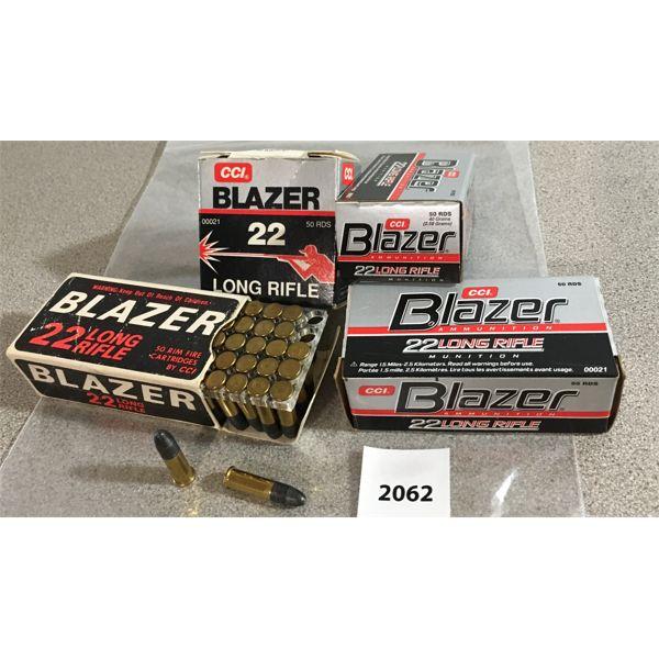 APPROX 170 X CCI BLAZER .22 LR - COLLECTIBLE BOXES