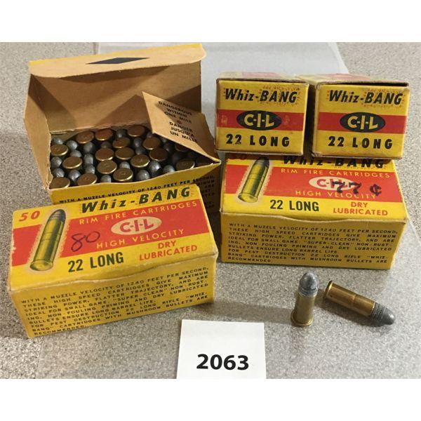 250 X CIL WHIZ-BANG .22 L - COLLECTIBLE BOXES