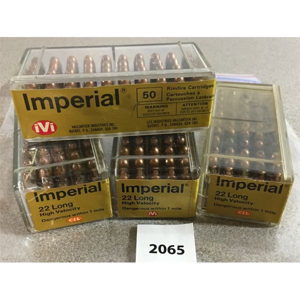 200 X IMPERIAL .22 L - SEALED BOXES