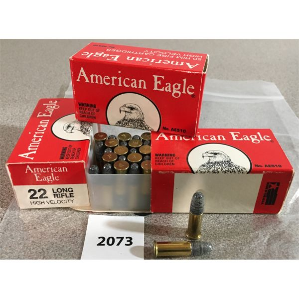 150 X AMERICAN EAGLE .22 LR RIM FIRE