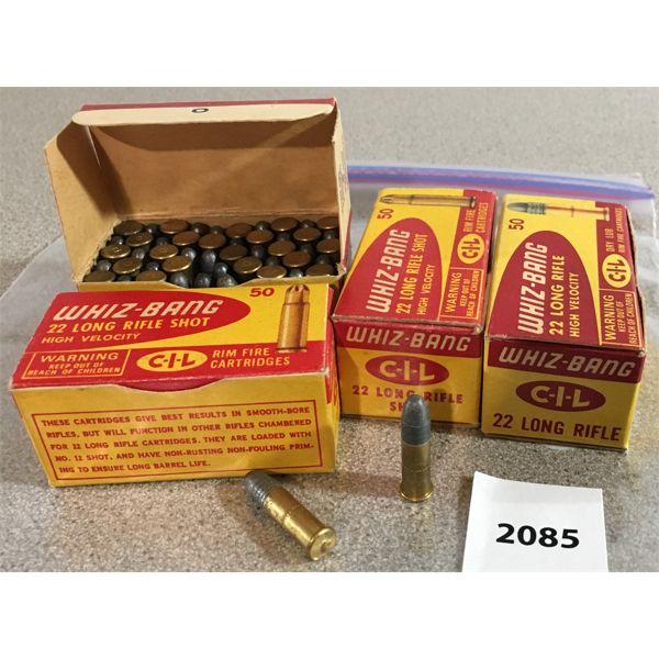 200 X CIL WIHIZ-BANG ,22 LR - COLLECTIBLE BOXES