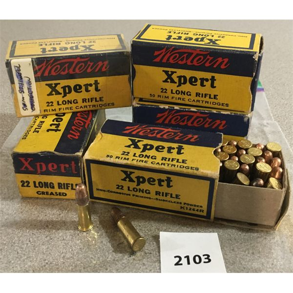 250 X WESTERN XPERT .22 LR - COLLECTIBLE BOXES