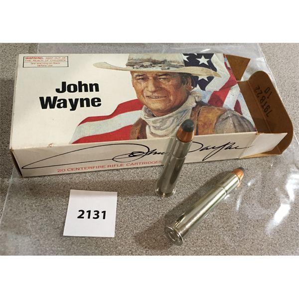 20 X WINCHESTER .32-40 165 GR - JOHN WAYNE COLLECTIBLE
