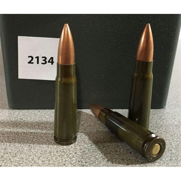 450 X 7.62 X 39 FMJ AMMO IN PLASTIC CASE