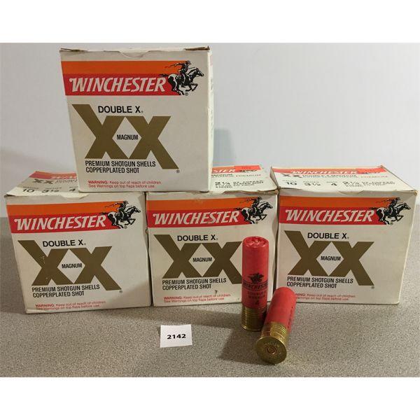 100 X WINCHESTER 12 GA 3 1/2 4 SHOT