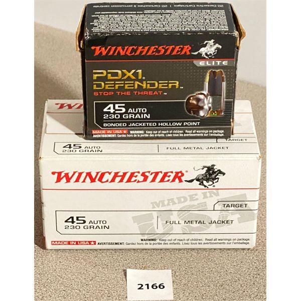 120 X WINCHESTER .45 AUTO 230 GR