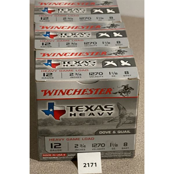 """75 X WINCHESTER 12 GA 2 3/4"""" 8 SHOT"""