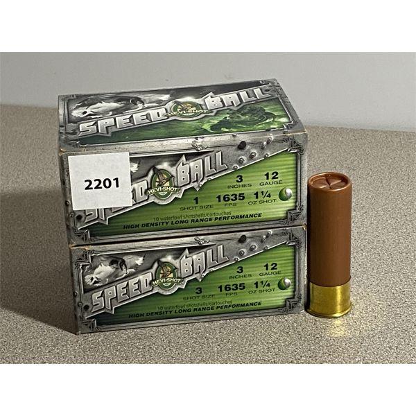 """20 X HEAVY SHOT 12 GA 3"""" 1 SHOT"""