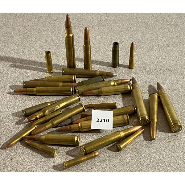 QTY OF MISC RIFLE AMMO
