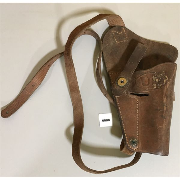LEATHER HOLSTER FOR 1911 US ARMY