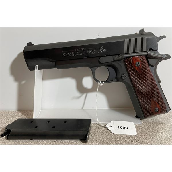 COLT MODEL 1911 GOVERMENT IN .45 AUTO - RESTRICTED CLASS