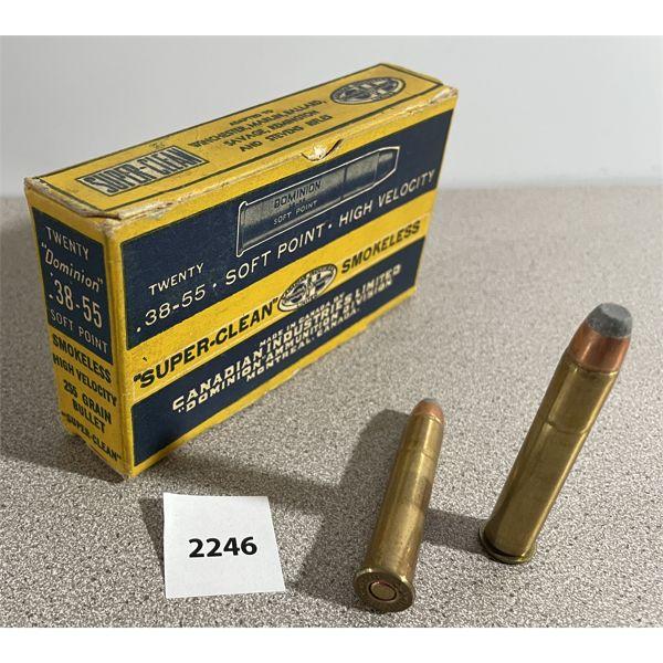 AMMO: 20 x CIL 38-55