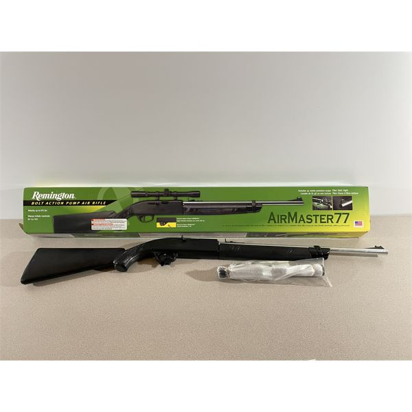 REMINGTON AIRMASTER 77 IN .177 PELLET & BB - NO PAL REQUIRED.