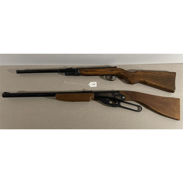 LOT OF 2 - DAISY .177 PELLET/BB GUNS - NO PAL REQUIRED.