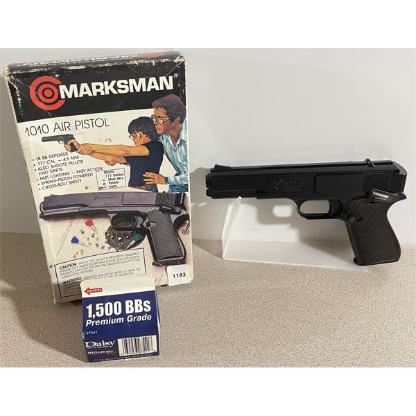 MARKSMAN MODEL 1010 IN .177 PELLET / BB - NO PAL REQUIRED