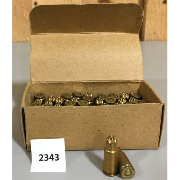 AMMO: 50 x 9MM LUGER BLANK