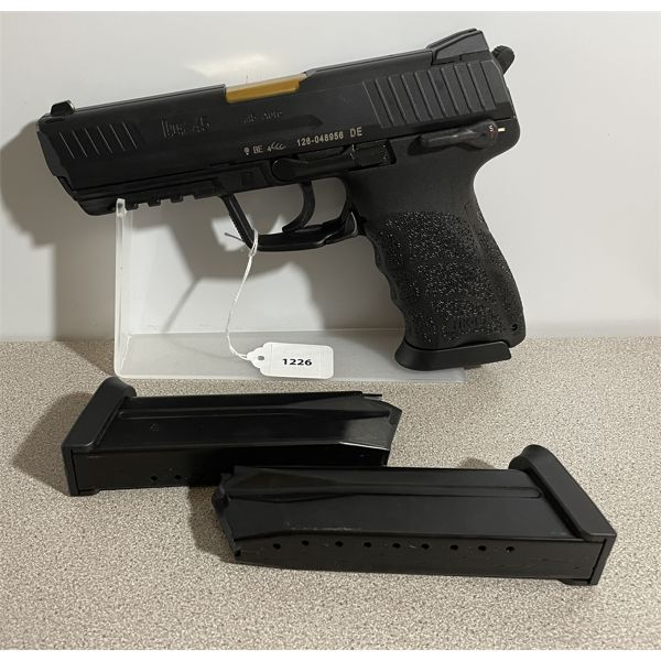 H & K MODEL HK 45 IN .45 AUTO - RESTRICTED CLASS