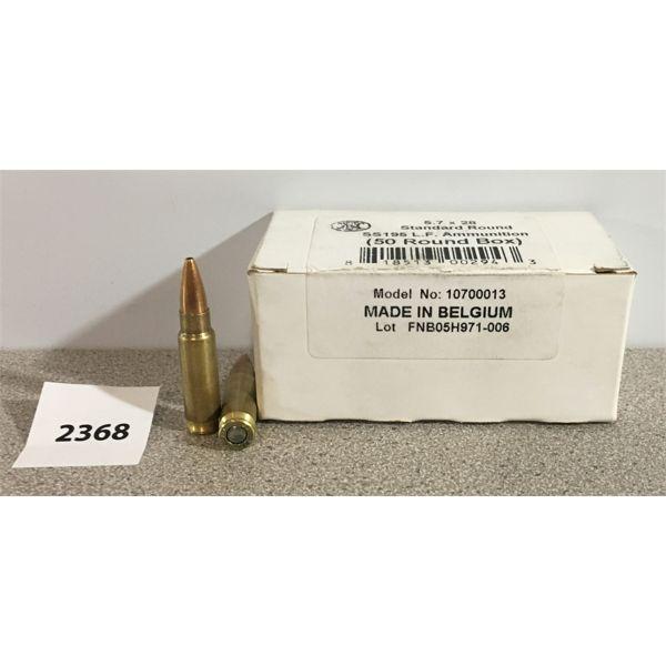 AMMO: 50 x FN 5.7X28MM HP