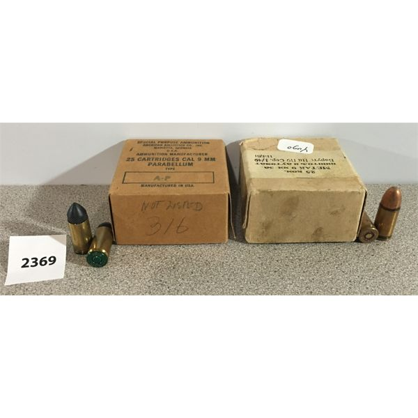 AMMO: 27 x 9MM LUGER