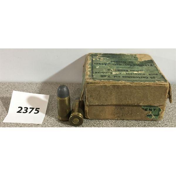 AMMO: 22 x FN 7.65MM (32 AUTO)