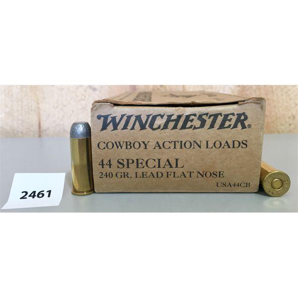 AMMO: 28X WINCHESTER 44 SPL 240GR LFN