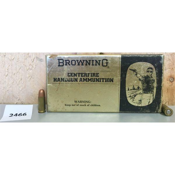 AMMO: 19X BROWNING 25 ACP 50GR FMJ