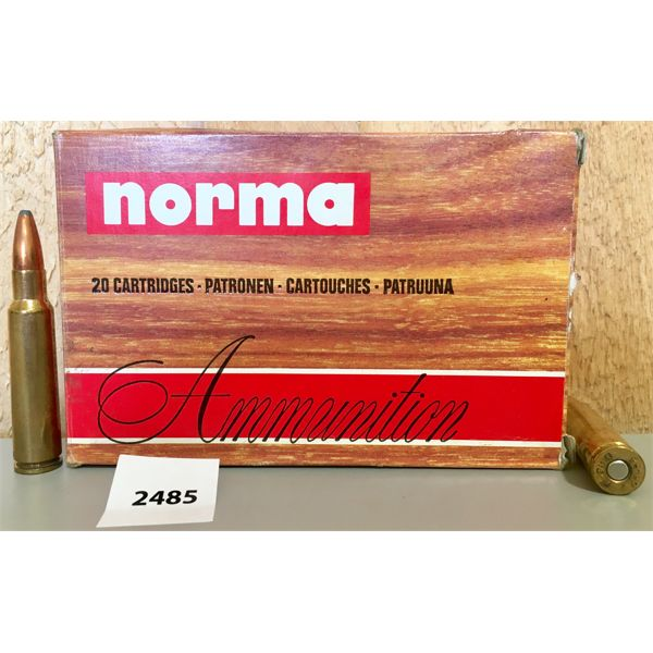 AMMO: 20X NORMA 7.5X55 MM 180GR SP
