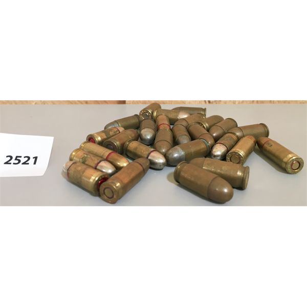 AMMO: 14X 380 ACP, 7X 32 ACP, 5X 7.62 LONG