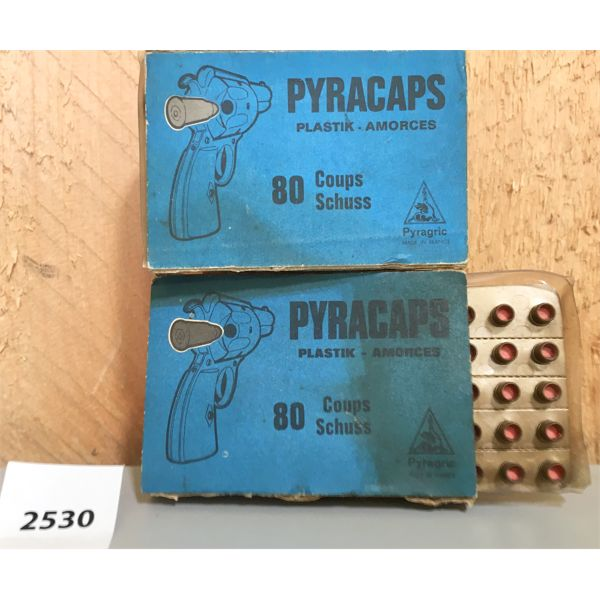 AMMO: 160X PYRACAPS FOR TOY GUNS