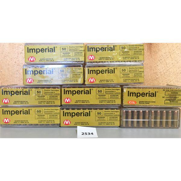 AMMO: 500X 22LR IMPERIAL