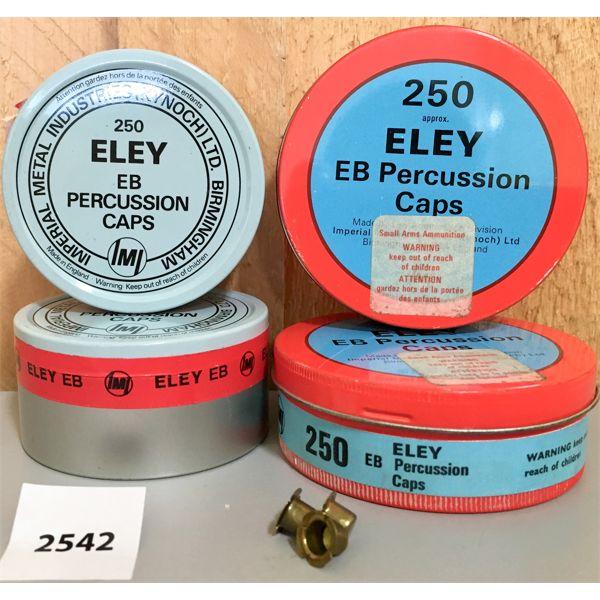 AMMO: 1000X ELEY EB PERCUSSION CAPS