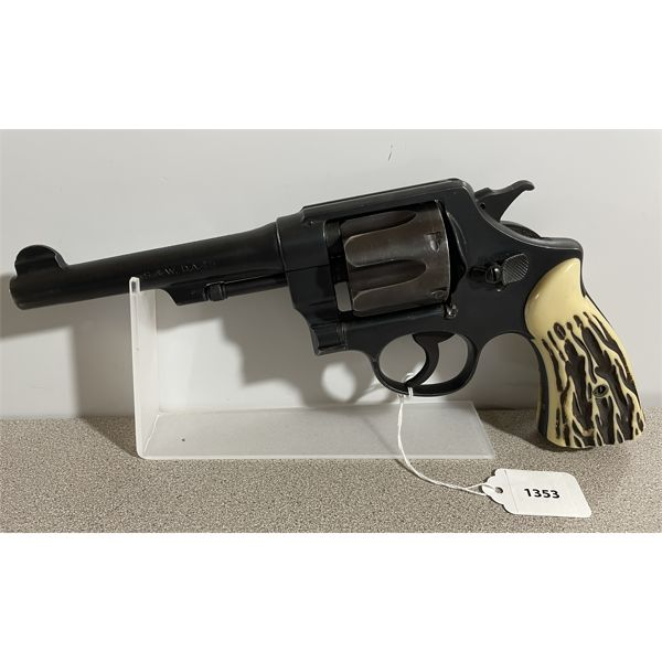 SMITH & WESSON HAND EJECTOR IN .455 - RESTRICTED CLASS