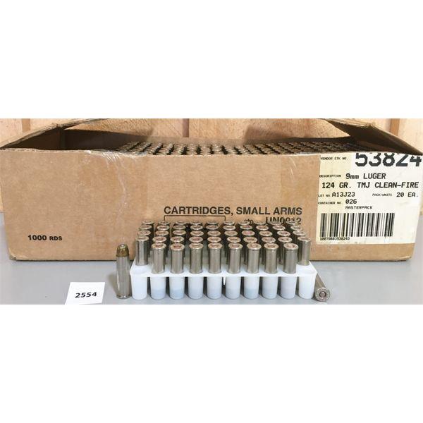 AMMO: 500X REMINGTON 357 MAG 125GR JHP