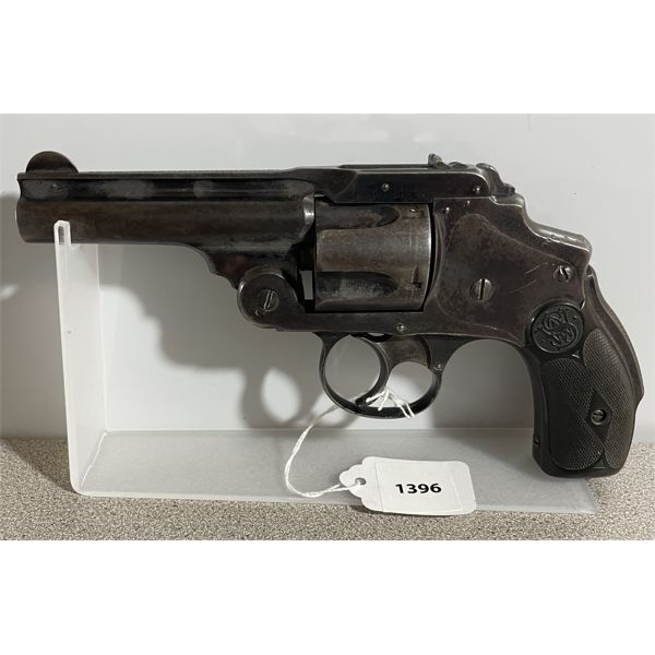SMITH & WESSON TOP BREAK HAMMERLESS IN .38 S&W - PROHIB CLASS