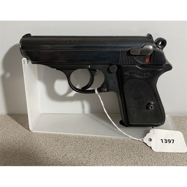 WALTHER MODEL PPK IN 7.65 - PROHIB CLASS